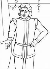 Prince Coloring Charming Pages Shrek Cinderella Printable Getcolorings Sumptuous Popular sketch template
