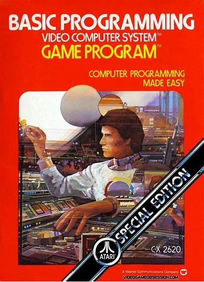 Atari Programming Basic 2600 Box Covers Future