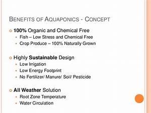Aquaponic Food Production