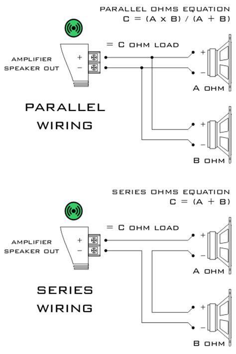 parallel vs series speakers  drone fest