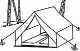 Tent Camping Coloring Drawing Clip Wecoloringpage Template Nice Snoopy Getdrawings Activity Printable Visit Cartoon Sketch Preschool sketch template