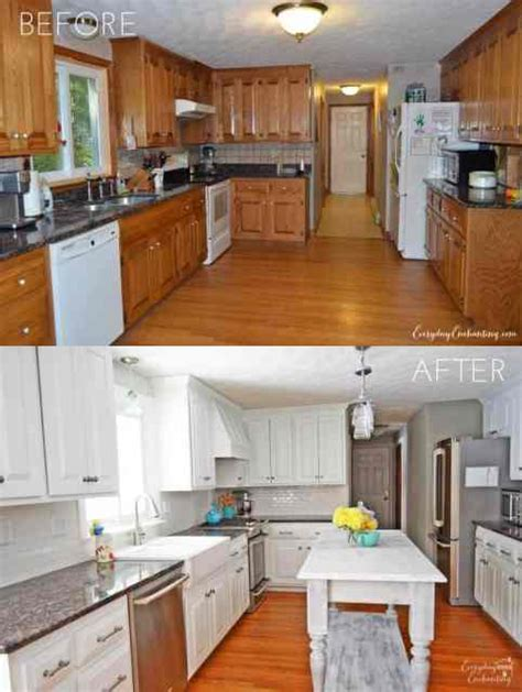 Can You Paint Maple Cabinets White by Tips Tricks For Painting Oak Cabinets Evolution Of Style