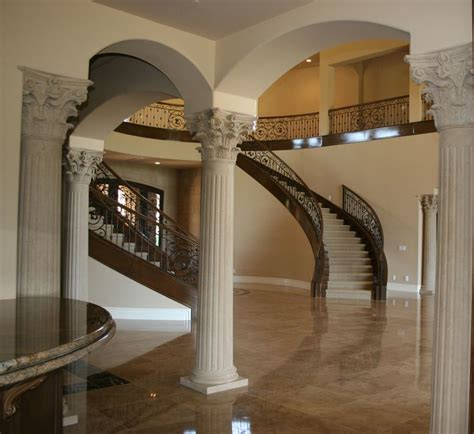 columns in houses interior house interior column designs stairs pinned by www modlar com stairs pinterest house
