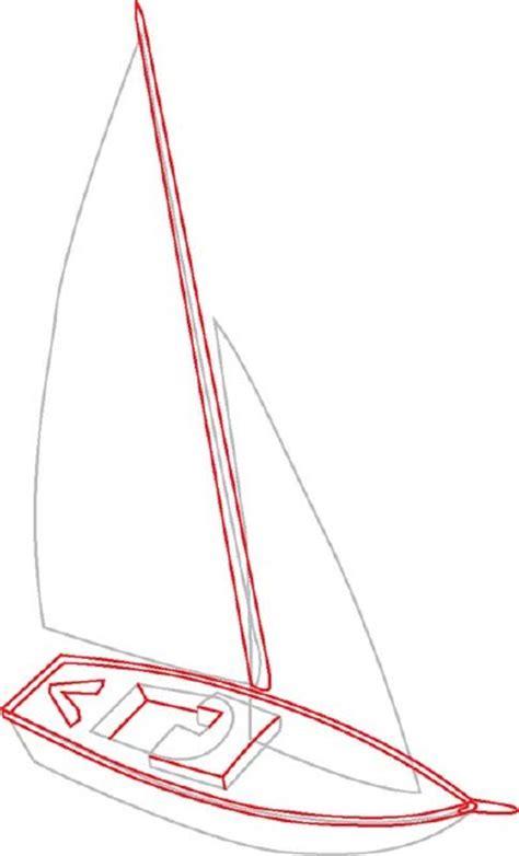 draw  mast  deck details   draw sailboats