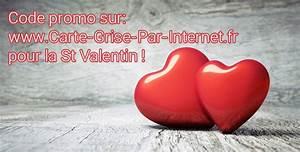 Demande De Carte Grise Par Internet : code promo carte grise par internet saint valentin ~ Medecine-chirurgie-esthetiques.com Avis de Voitures