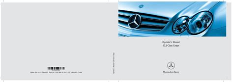 motor repair manual 2006 mercedes benz clk class electronic throttle control 2006 mercedes benz clk class coupe owners manual just give me the damn manual