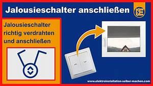 Fi Schalter Anklemmen : jalousie schalter anschlie en rollladen schaltung jalousie ~ A.2002-acura-tl-radio.info Haus und Dekorationen