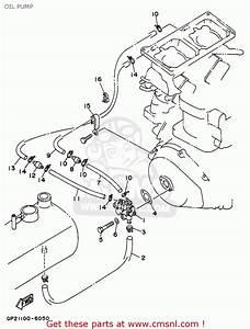 62t1320013  Oil Injection Pump Assy Wb760v Wave Blaster