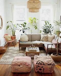 Awesome, 65, Modern, Bohemian, Living, Room, Decor, Ideas, S