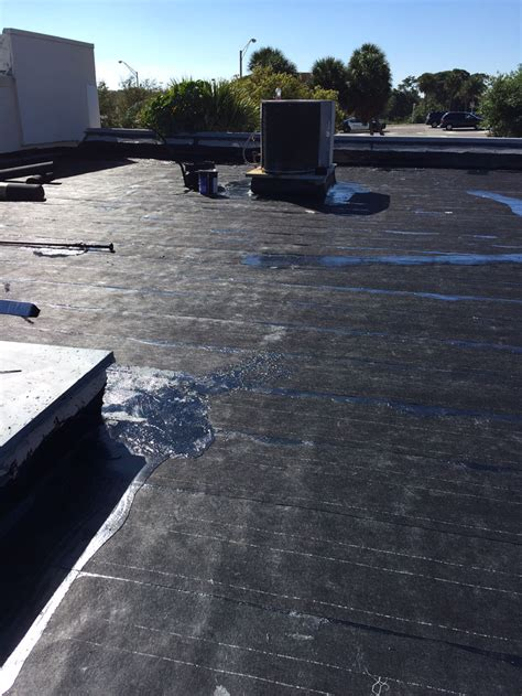 Roof Replacement With Hot Tar  Dolphin Roofing
