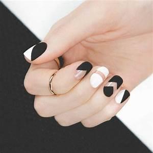 Plaid Noir Et Blanc : les 25 meilleures id es concernant ongles blancs noirs sur ~ Dailycaller-alerts.com Idées de Décoration