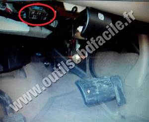 OBD2 Connector Location In Chevrolet Tahoe GMT800 1999