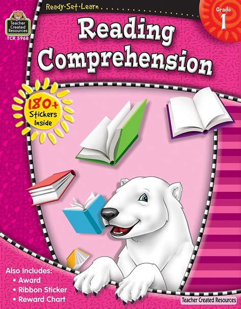 ready set learn reading comprehension grade  tcr