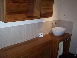 Salle De Bain Exotique : salle de bains bois massif exotique ~ Teatrodelosmanantiales.com Idées de Décoration