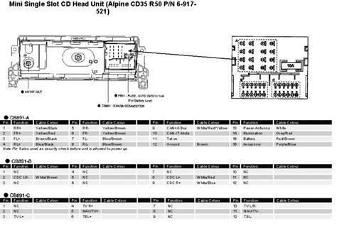 mini car radio stereo audio wiring diagram autoradio