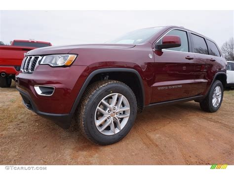 red jeep 2017 2017 velvet red pearl jeep grand cherokee laredo 4x4