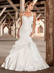 extremely gorgeous halter neck wedding gown keep all eye With halter neck wedding dress