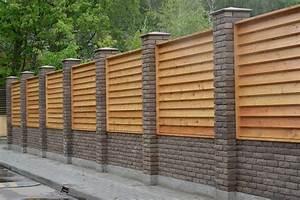 Faire Un Mur De Cloture : mur de cl ture toutes les infos pour bien le monter ~ Premium-room.com Idées de Décoration