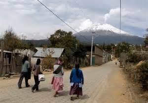 Mexico Volcano Popocatepetl