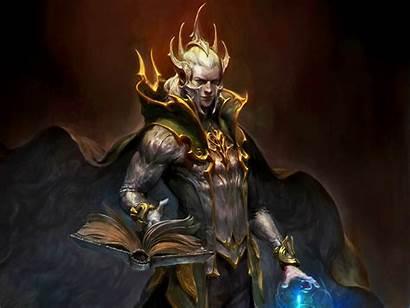Sorcerer Fantasy Wizard Mage Wallpapers Magician Magic