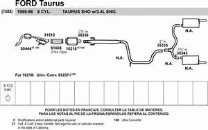 2000-2007 Taurus Exhaust