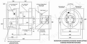 Pullmaster Pl Range Marine Use Hydraulic Wire Rope Winch