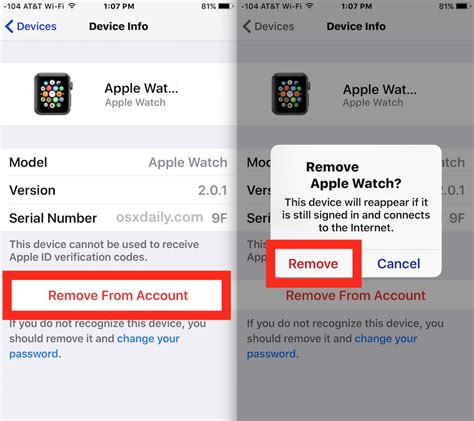 how to delete icloud account on iphone how to remove a device from an icloud account via ios