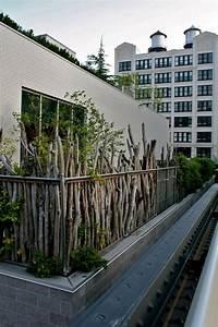 26 ideen fur balkon sichtschutz verschiedene With französischer balkon mit bäume und sträucher für den garten