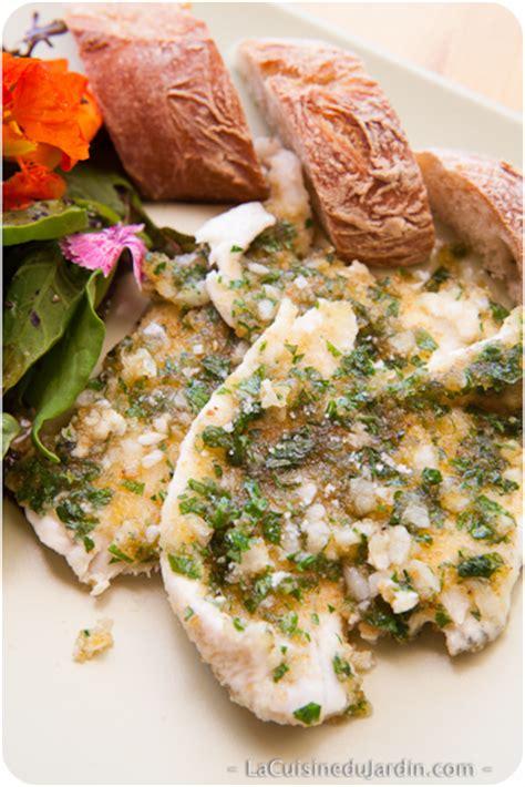 filet de carrelet à la provençale la cuisine du jardin