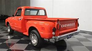 Classic Vintage Chrome Chevy Stepside C10 Inline V6 3