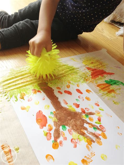 fall projects  toddlers preschool
