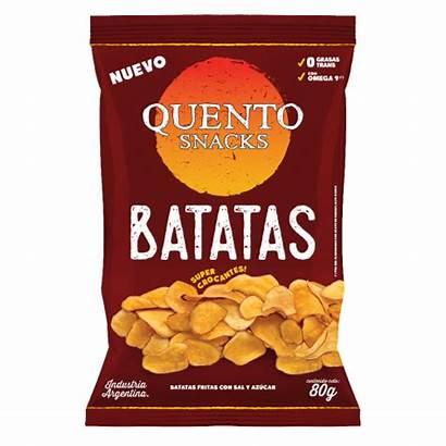 Quento Batatas Fritas Snacks 80gr Salados Papas
