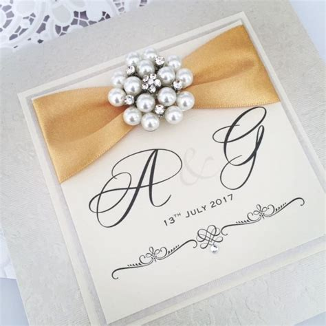 Boxed Monogrammed Wedding Invitations Amor Designs