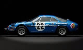 Renault Alpine a110 rally version