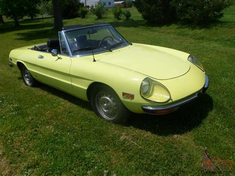 1972 Alfa Romeo 2000 Spider Related Infomation