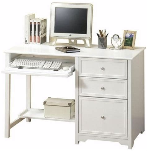 Computer Desk With Drawers by Small Computer Desk With Drawers Foter
