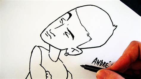 como desenhar  eminem cartoon   draw eminem shake