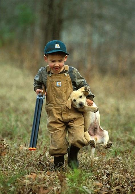 young boy   yellow lab  cute funny dogs