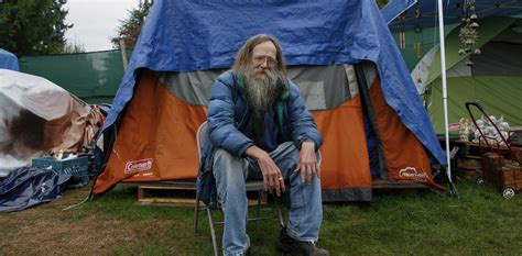 unsheltered homeless people