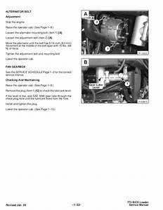Bobcat 773 Skid Steer Loader Service Repair Manual S  N
