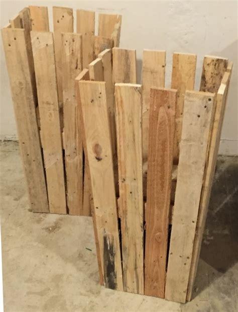 leroy merlin poubelle cuisine des murs en bois de récup 39 palettes