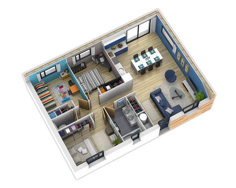 chambres d h e plan intérieur plans intérieurs plans