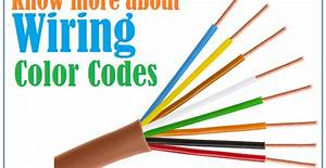 Wire Color Meanings For Electrical Wiring