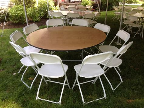 round table seats 8 60 quot round wood table rentals seats 8 10