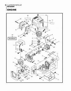 Maruyama Parts Bc4200h Engine