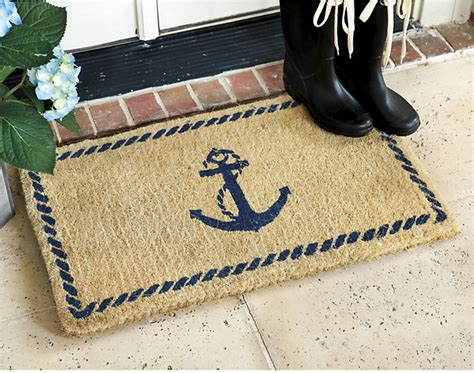 Design Doormats by Anchor Coir Mat Traditional Doormats By Ballard Designs