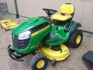 2015 John Deere S240 - Lawn  U0026 Garden Tractors