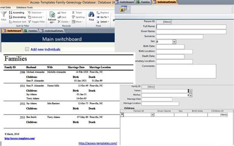 Ms Access Html Template by Microsoft Access 2007 Templates In Access Database