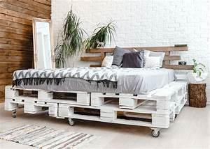 Comment Faire Un Lit En Palette : comment faire un lit en palette blog d co clem around the corner ~ Nature-et-papiers.com Idées de Décoration