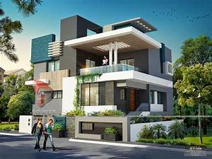 we are expert in designing 3d ultra modern home designs With house interior and exterior design